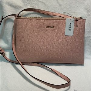 NWT Guess Rose colored crossbody.